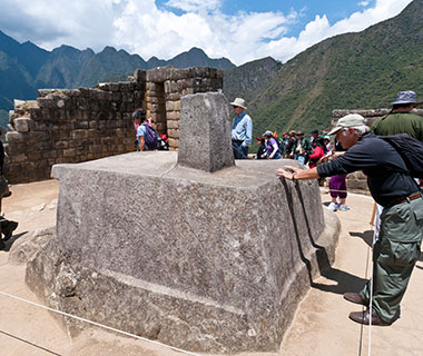 World's Weirdest Superstitions: Rubbing the Intihuatana Stone, Machu Picchu