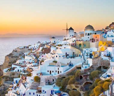 World's Best Islands: Santorini