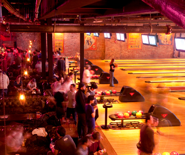 America's Coolest Bowling Alleys: Brooklyn Bowl