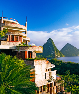 World's Best Hotels: Jade Mountain St. Lucia