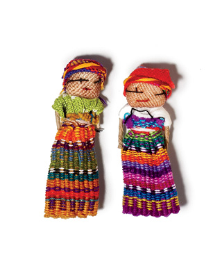 Good Luck Charms: Worry Dolls