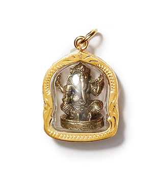 Good Luck Charms: Ganesh Amulet
