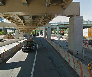 America's Most Dangerous Bridges: NY Route 907P (Harlem River Drive) over ramp to NB Harlem River Drive