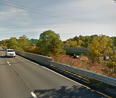 No. 20 I-495 NB over abandoned railroad, Amesbury, MA