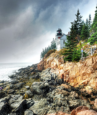 Beautiful Lighthouses in America: Bass Harbor Head Light