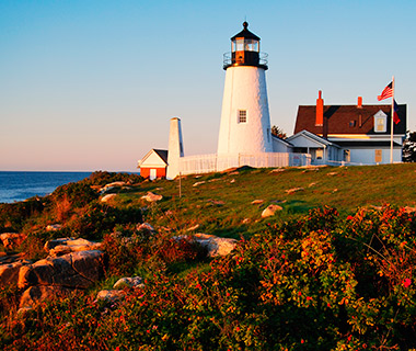 Beautiful Lighthouses in America: Pemaquid Point Light