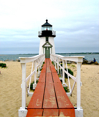 Beautiful Lighthouses in America: Brant Point Light