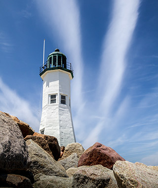 Beautiful Lighthouses in America: Scituate Light