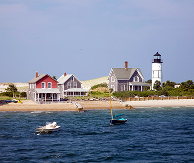 Beautiful Lighthouses in America: Sandy Neck