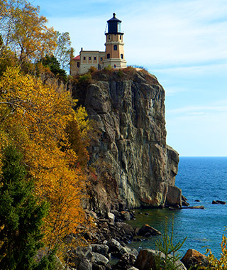 Beautiful Lighthouses in America: Split Rock Lighthouse