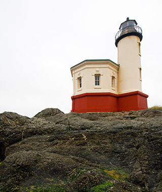 Beautiful Lighthouses in America: Coquille River Light