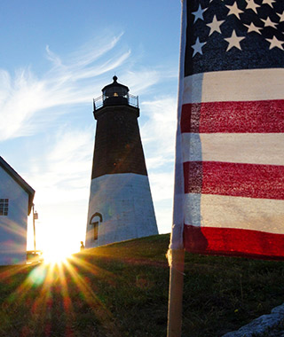 Beautiful Lighthouses in America: Point Judith