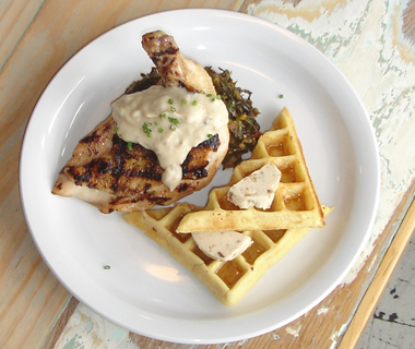 America's Best Chicken & Waffles: Cowbell, New Orleans