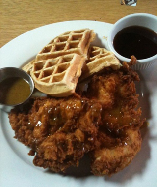 America's Best Chicken & Waffles: Early Bird Diner, Charleston, SC