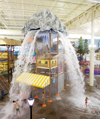 America's Coolest Indoor Water Parks: Avalanche Bay