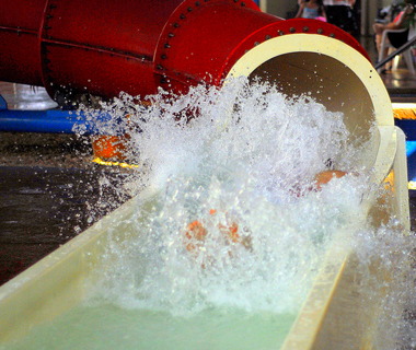 America's Coolest Indoor Water Parks: Palmetto and Palm Water Parks at Dunes Village Resort