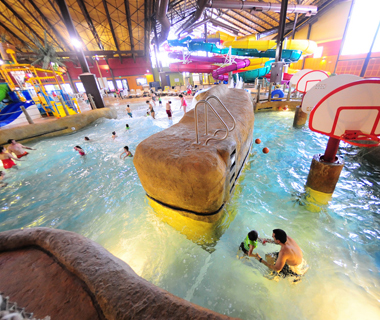 America's Coolest Indoor Water Parks: Kahuna Laguna at the Red Jacket Mountain View Resort