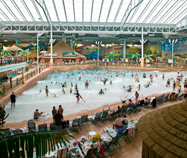 America's Coolest Indoor Water Parks: Kalahari Water Park at Kalahari Resort