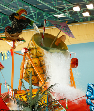 America's Coolest Indoor Water Parks: Lost Paradise Waterpark at KeyLime Cove Resort