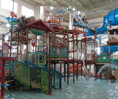 America's Coolest Indoor Water Parks: Water Park of America