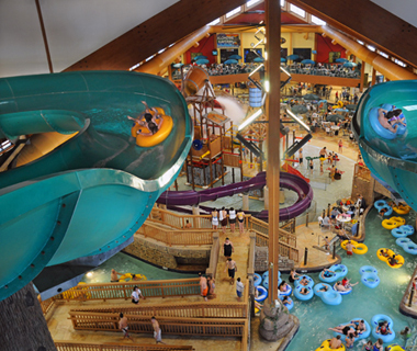 America's Coolest Indoor Water Parks: Klondike Kavern at Wilderness Territory Resort