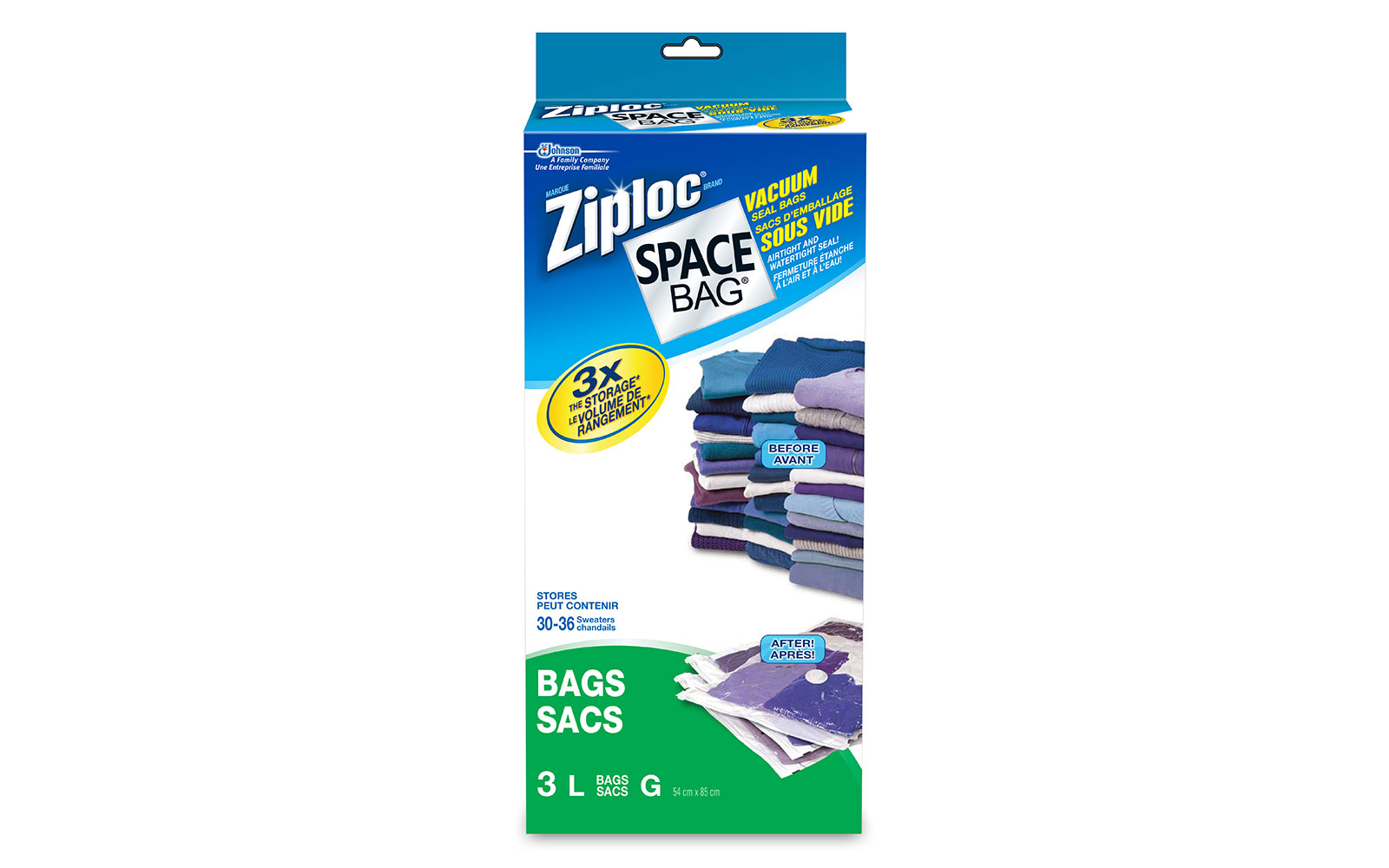How to Pack a Suitcase: Ziploc Space Bags