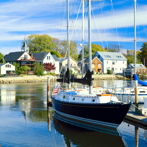 Sailing in Kennebunkport, ME