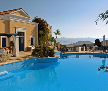 Best Affordable Island Hotels: Lefkes Village Hotel