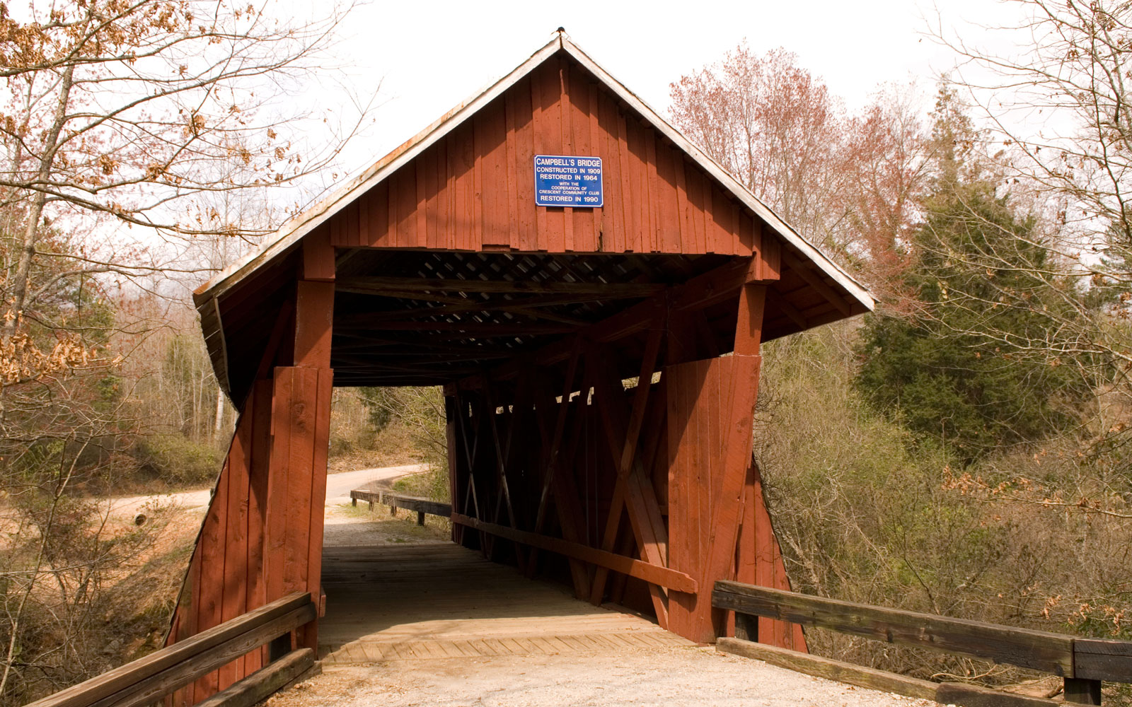 America's Most Beautiful Covered Bridges: Campbell's