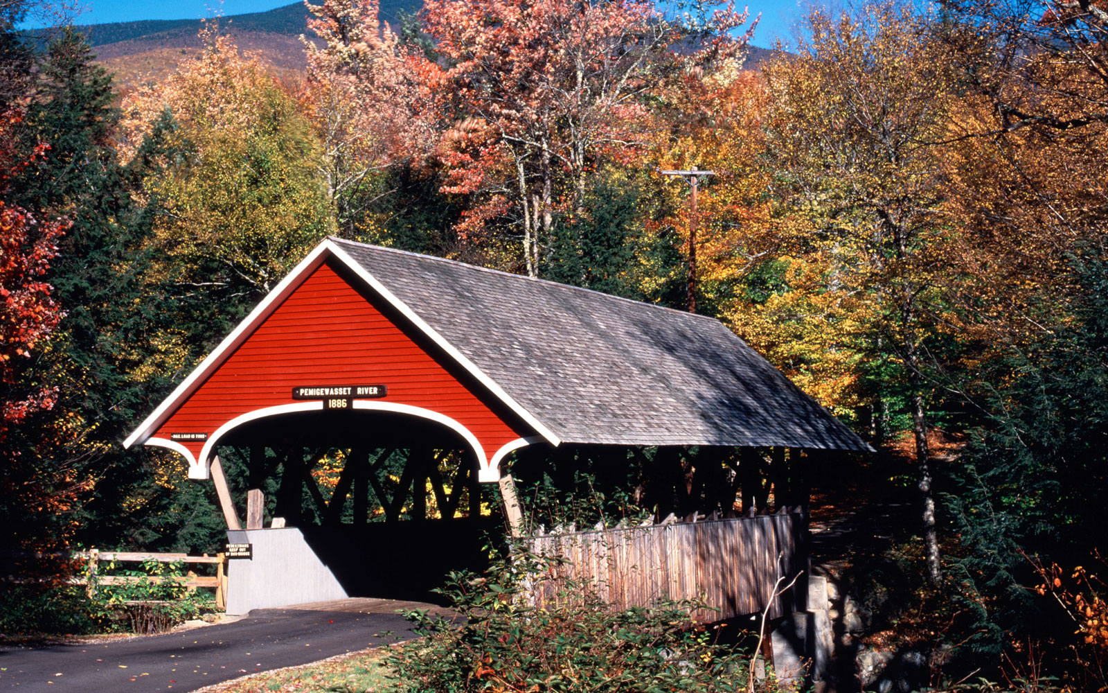 America's Most Beautiful Covered Bridges: Flume