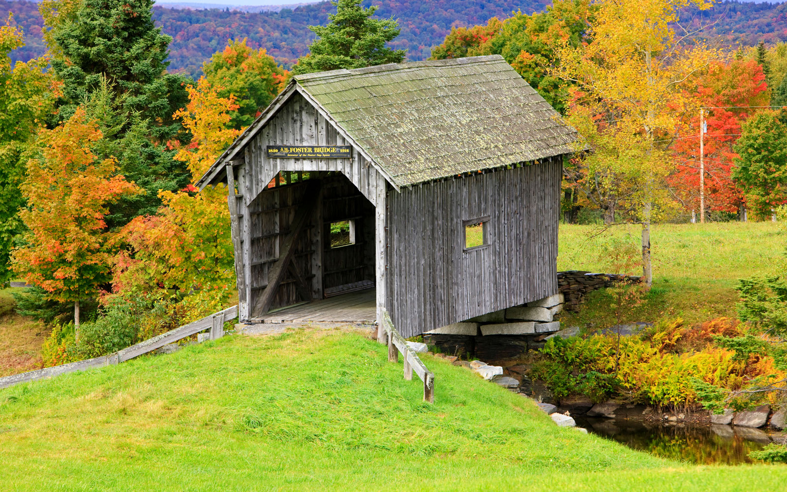 America's Most Beautiful Covered Bridges: A. M. Foster