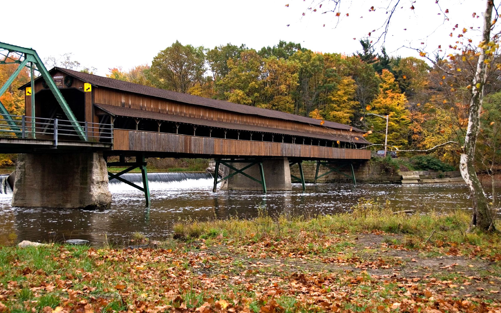 America's Most Beautiful Covered Bridges: Harpersfield