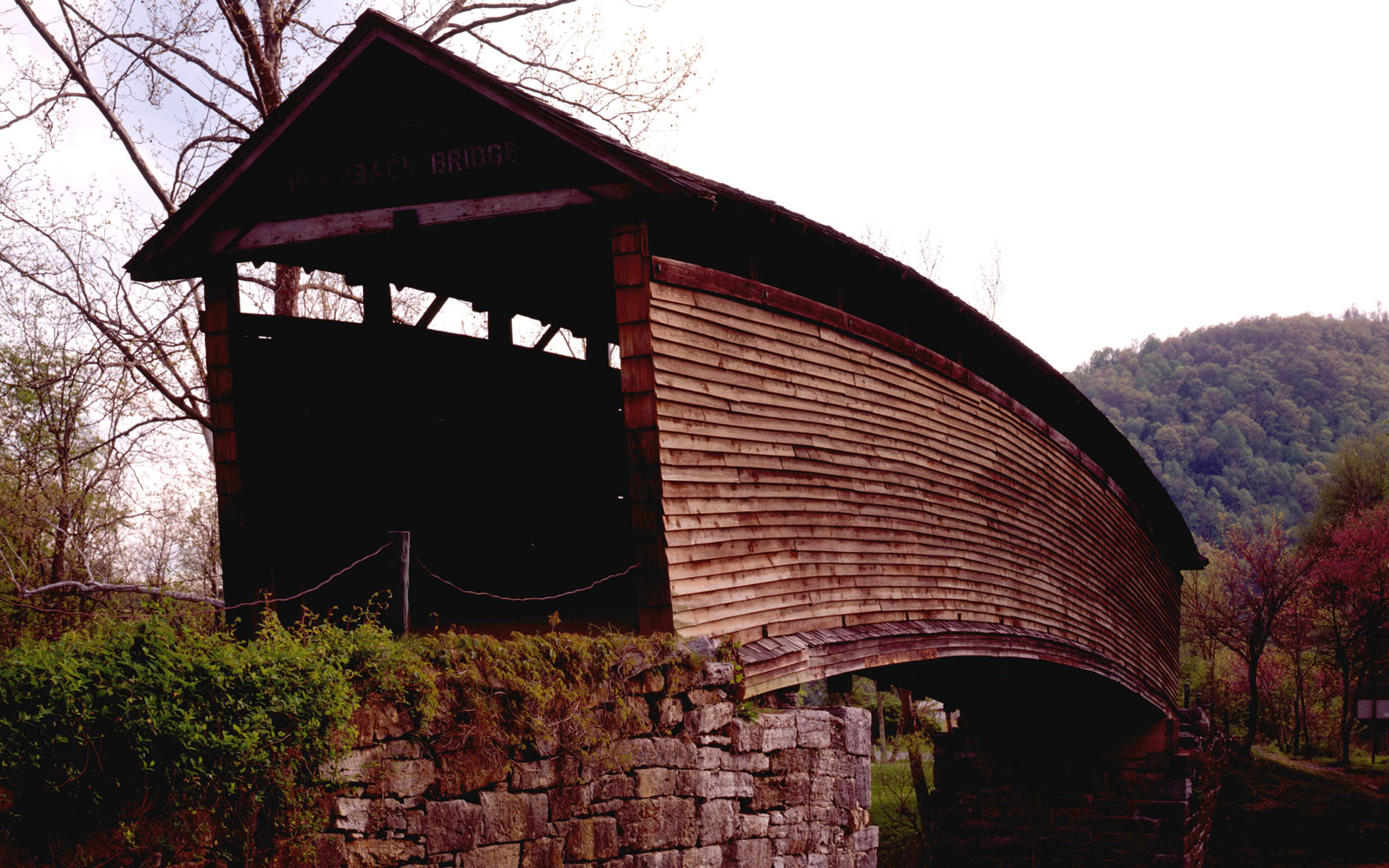 America's Most Beautiful Covered Bridges: Humpback