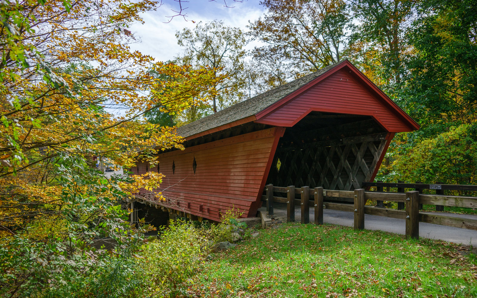 America's Most Beautiful Covered Bridges: Newfield