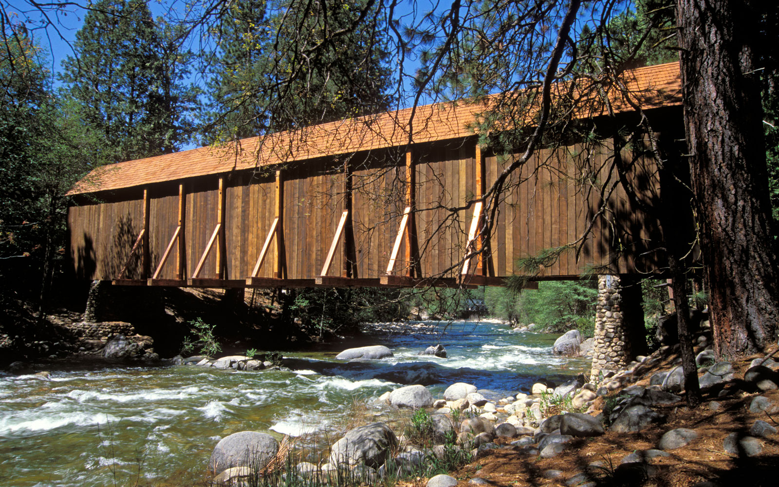 America's Most Beautiful Covered Bridges: Wawona
