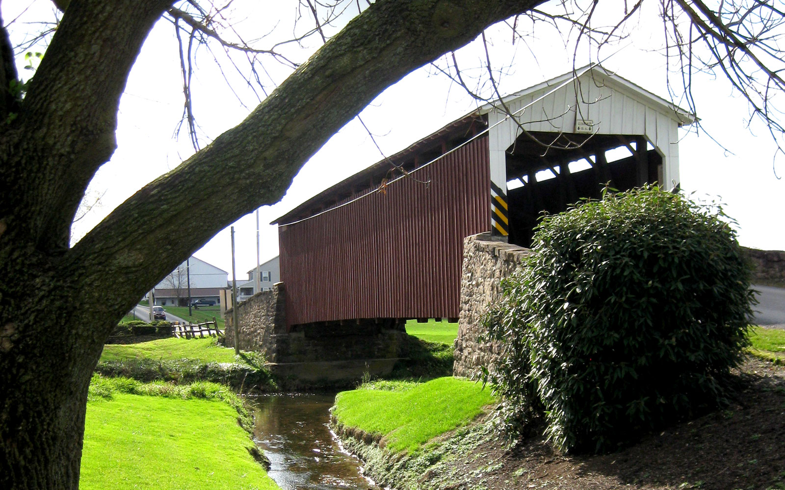America's Most Beautiful Covered Bridges: Weaver's Mill
