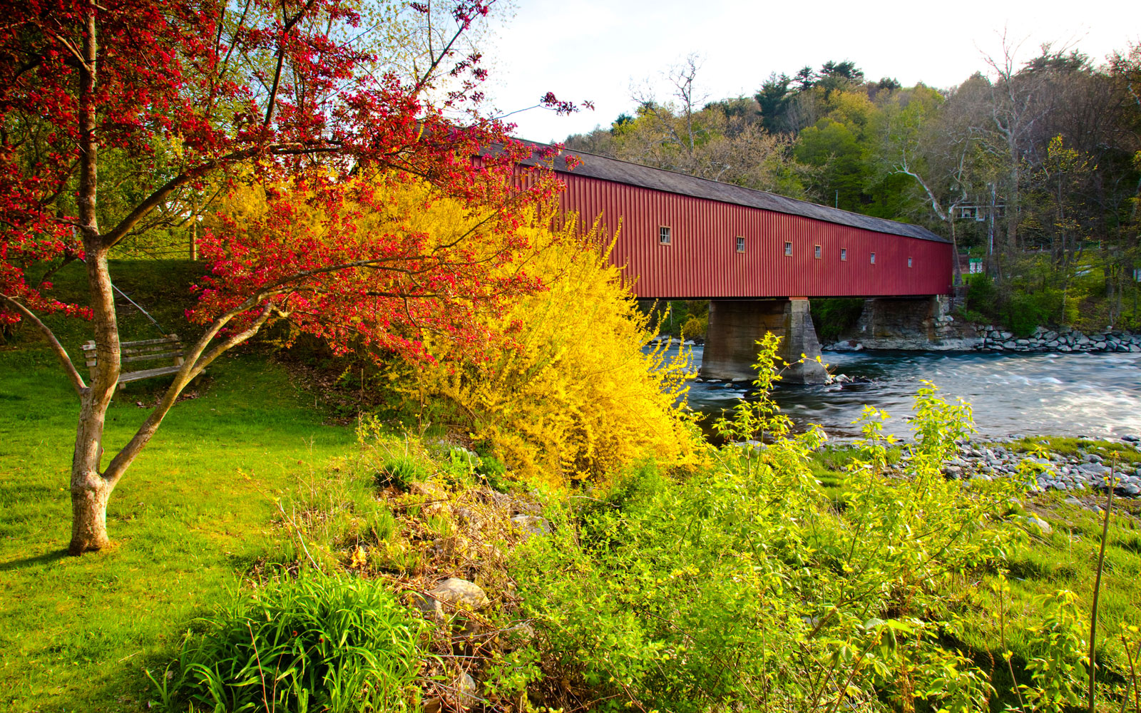 America's Most Beautiful Covered Bridges: West Cornwall