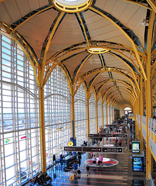 America's Best and Worst Airports for Delays: Reagan National Airport (DCA)