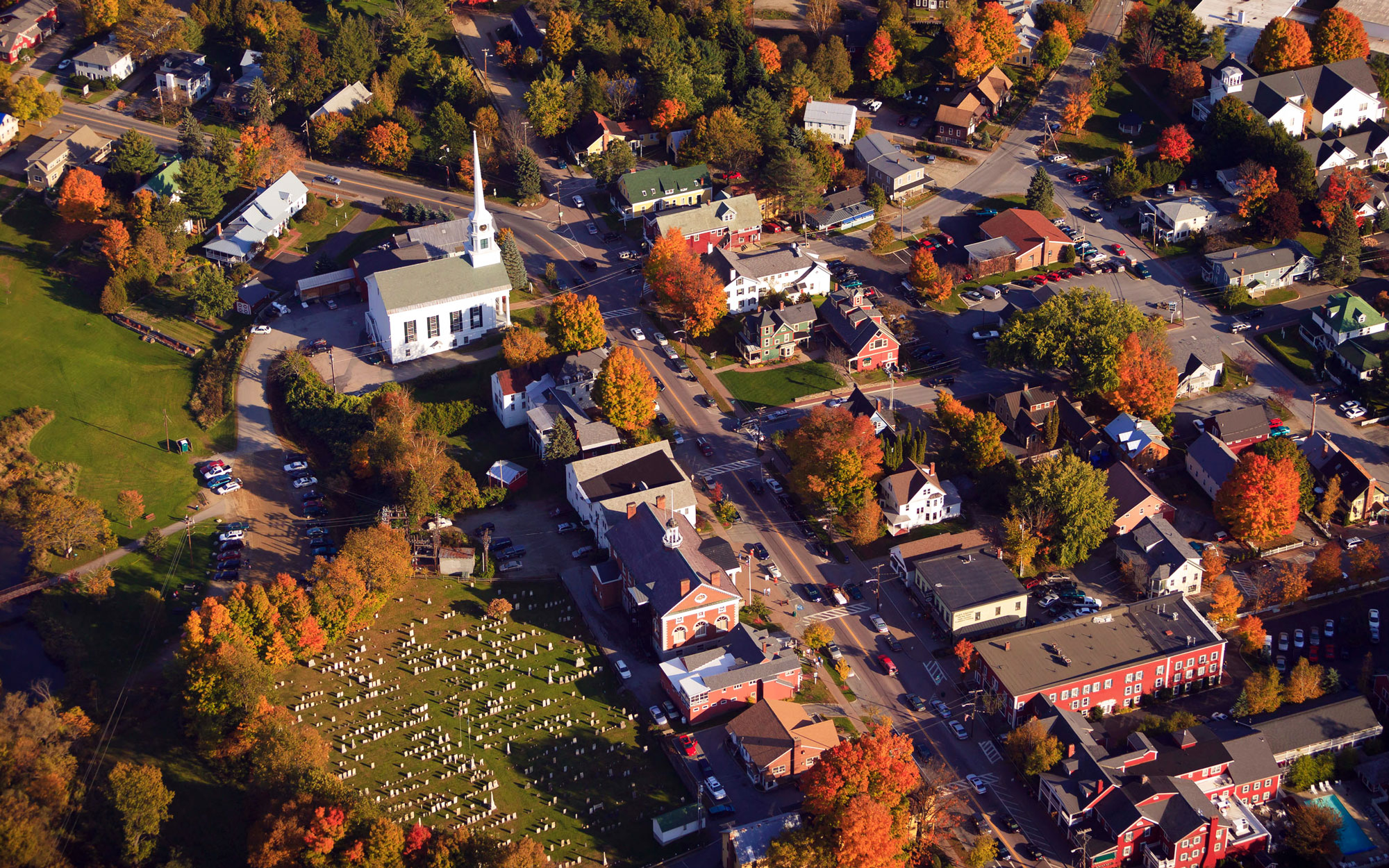 America's Best Towns for Halloween: Stowe