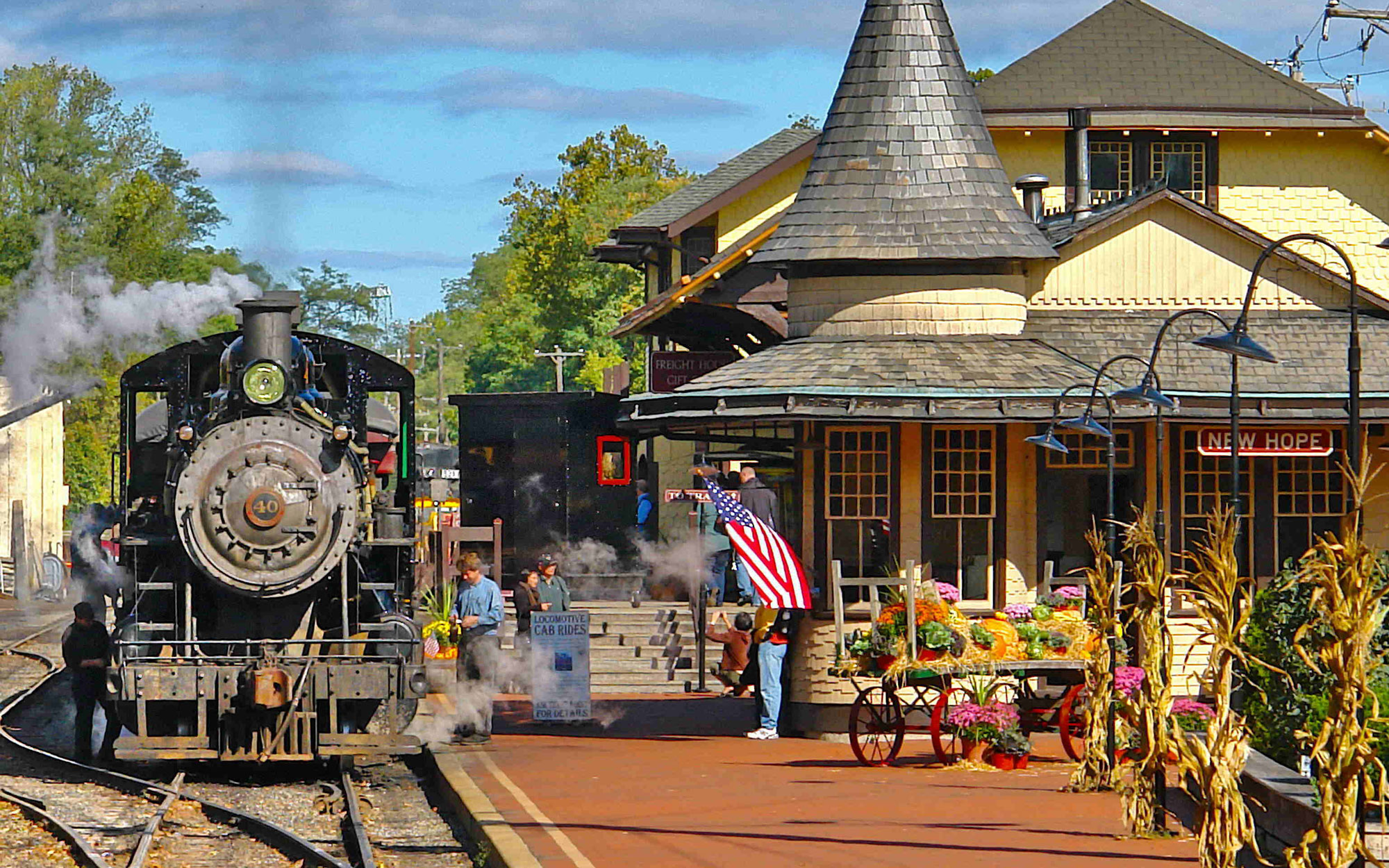 America's Best Towns for Halloween: New Hope