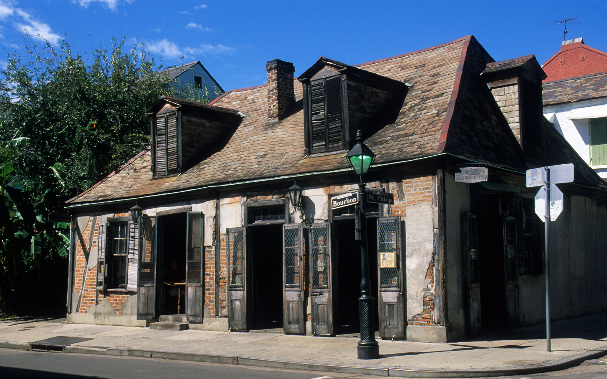 America's Most Haunted Places: Lafitte's Blacksmith Shop Bar