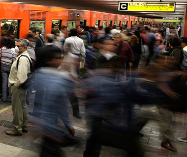 World's Most Crowded Subways: Mexico City