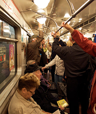 World's Most Crowded Subways: Russia