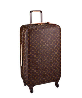 World's Craziest Airport Souvenirs: Louis Vuitton suitcase at Incheon