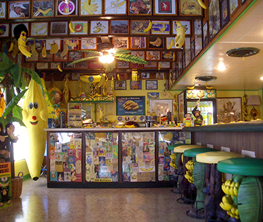 Strangest Museums: International Banana Museum