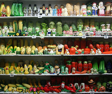 Strangest Museums: Salt and Pepper Shaker Museum