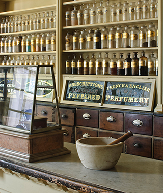 Strangest Museums: Apothecary Museum