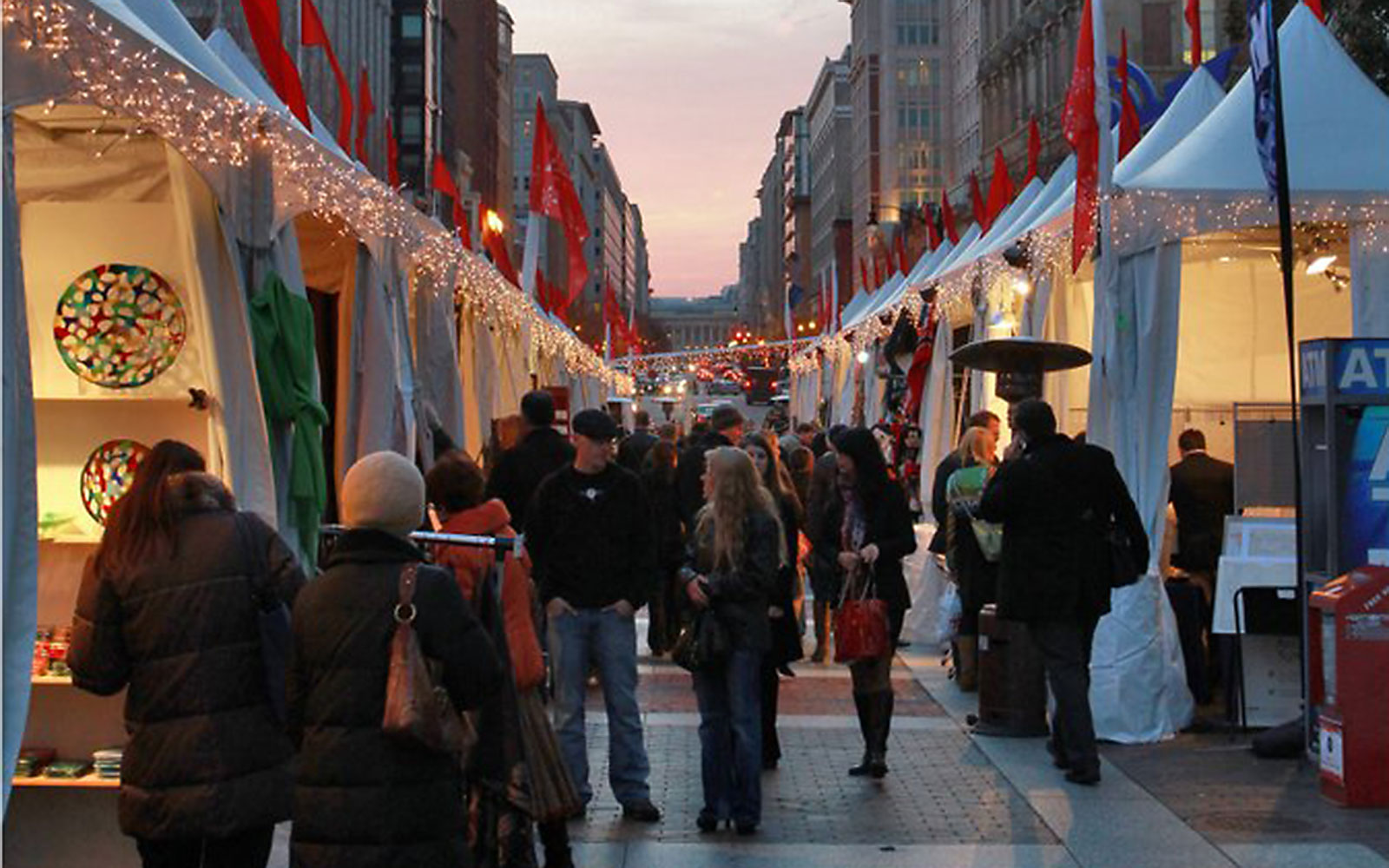 America's Best Christmas Markets: Downtown Holiday Market