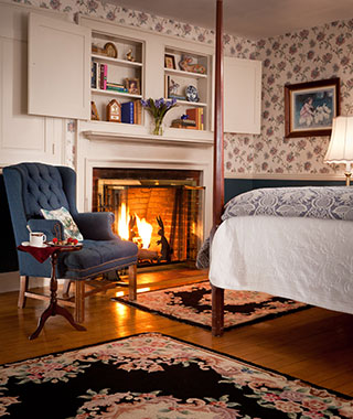 America's Most Romantic Winter Destinations: Rabbit Hill Inn