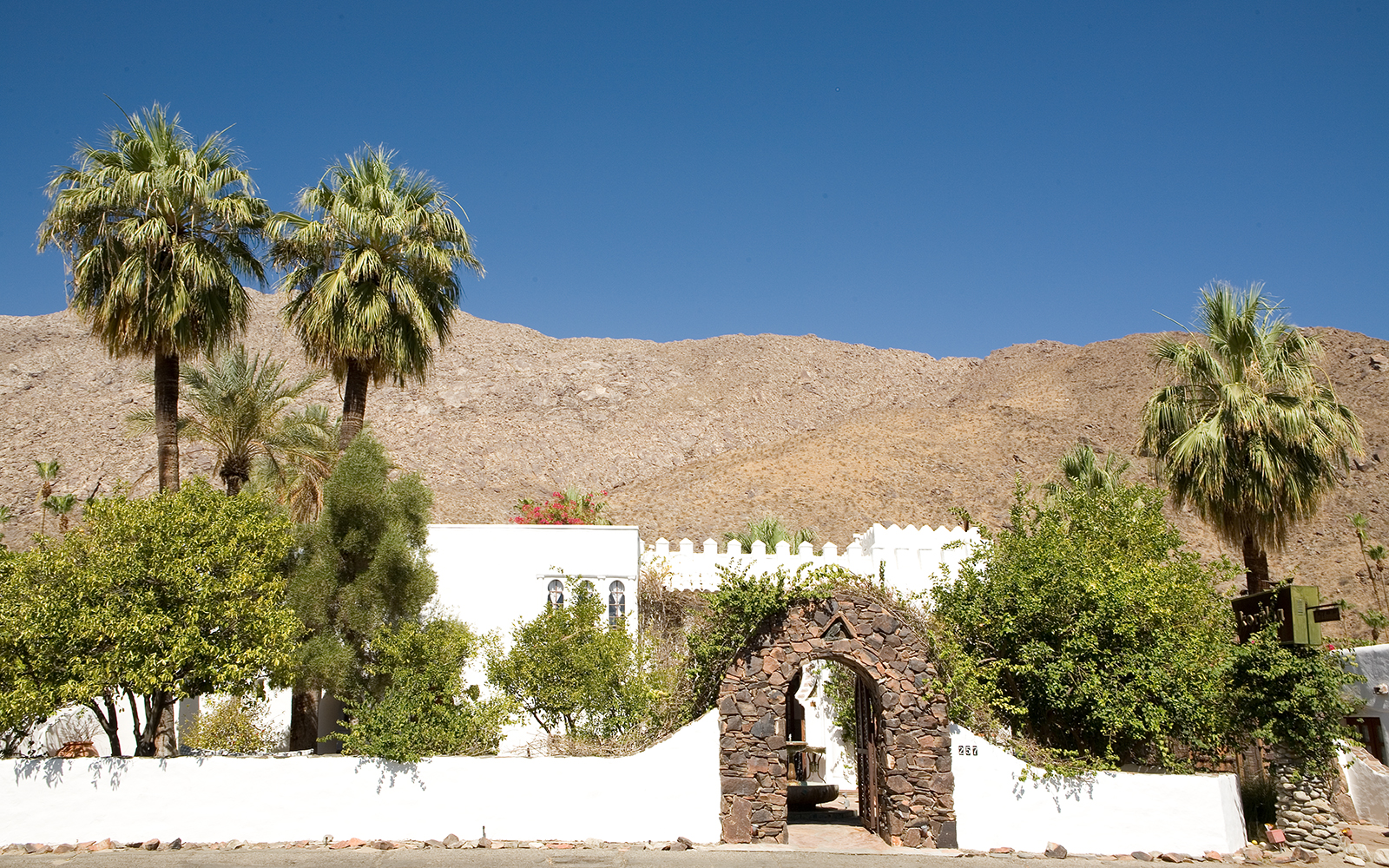 America's Most Romantic Winter Destinations: Korakia Pensione, Palm Springs